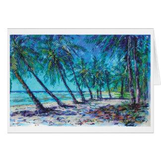 Barbados shore card