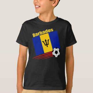 Barbados Soccer Team T-Shirt