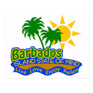 Barbados State of Mind postcard