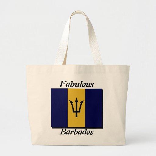 Barbados tote bags-fabulouus barbados jumbo tote bag