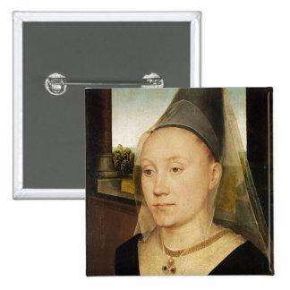 Barbara de Vlaenderberch, c.1472-75 15 Cm Square Badge