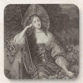 Barbara Duchess of Cleaveland (1641-1709) as a She Drink Coasters
