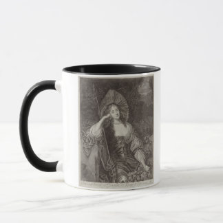 Barbara Duchess of Cleaveland (1641-1709) as a She Mug