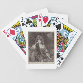 Barbara Duchess of Cleaveland (1641-1709) as a She Card Deck