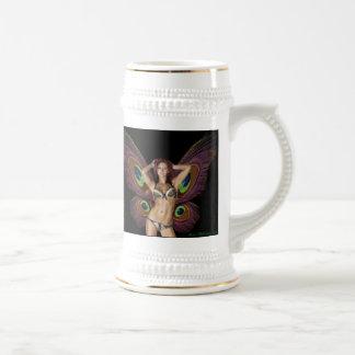 Barbara Mackowiak Butterfly Beer Stein