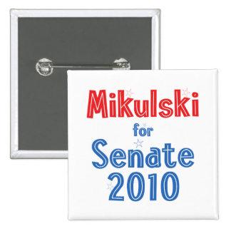 Barbara Mikulski for Senate 2010 Star Design Pins
