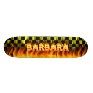 Barbara real fire Skatersollie skateboard