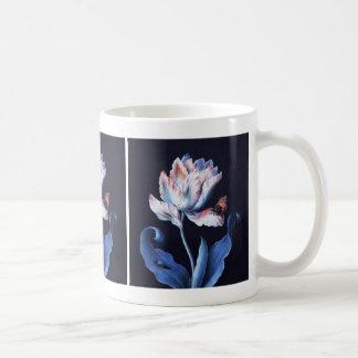Barbara Regina Dietzsch: Parrot Tulip Basic White Mug
