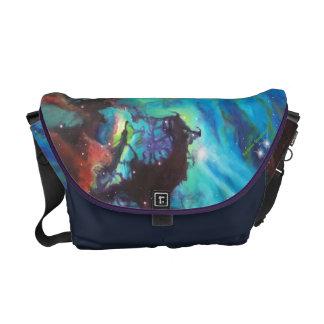 Barbara Sheehan Galaxy Nebula Artist, Space Messenger Bags