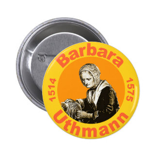 Barbara Uthmann 6 Cm Round Badge