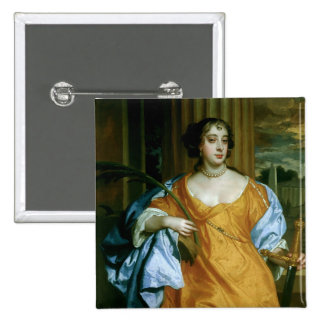 Barbara Villiers Duchess of Cleveland 15 Cm Square Badge