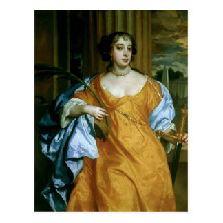 Barbara Villiers Duchess of Cleveland Postcard