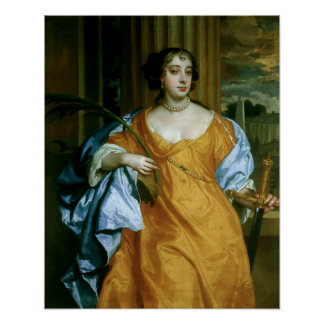 Barbara Villiers Duchess of Cleveland Poster