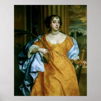Barbara Villiers Duchess of Cleveland Print