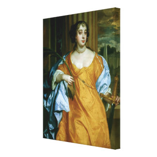 Barbara Villiers Duchess of Cleveland Stretched Canvas Print