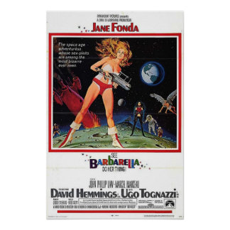 Barbarella Movie Poster