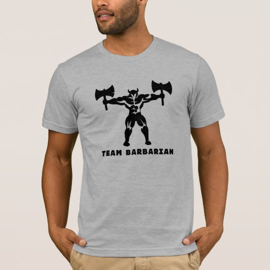 Barbarian Form Fitting T-Shirt