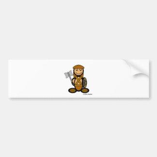 Barbarian (plain) bumper sticker