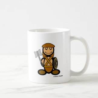 Barbarian (plain) coffee mug