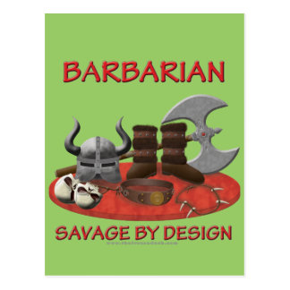 Barbarian: Savage by Design Postcard