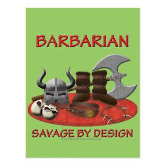 Barbarian: Savage by Design Postcard
