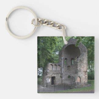 Barbarossa ruins Single-Sided square acrylic keychain