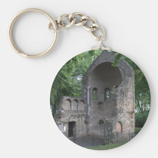 Barbarossa ruins key chain