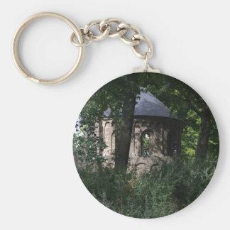 Barbarossa Ruins, Nijmegen Basic Round Button Key Ring