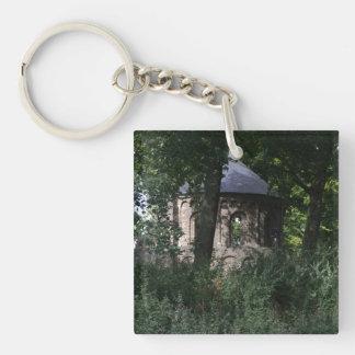 Barbarossa Ruins, Nijmegen Single-Sided Square Acrylic Key Ring