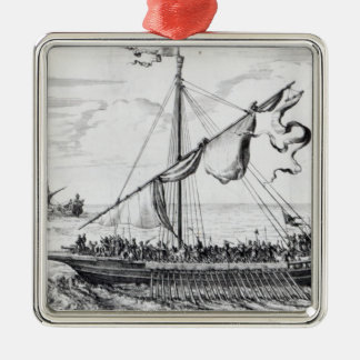 Barbary Galleys Christmas Ornament