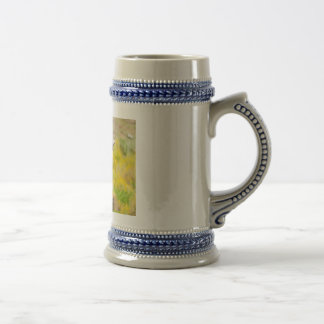 Barbary sheep beer stein