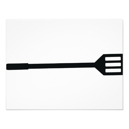 barbecue cutlery icon custom announcements