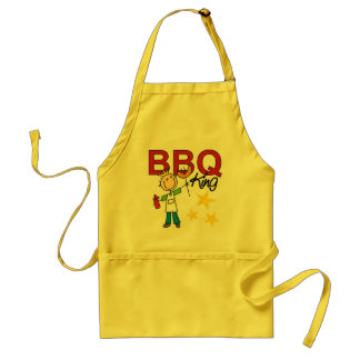 Barbecue King Adult Apron