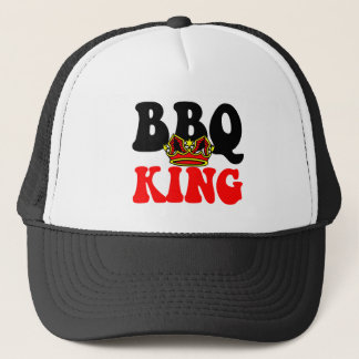Barbecue King Trucker Hat