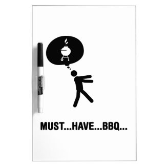 Barbecue Lover Dry-Erase Whiteboards