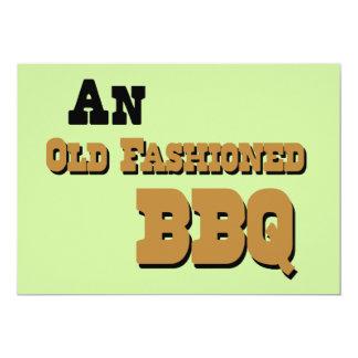 """Barbecue Party Invitation 5"""" X 7"""" Invitation Card"""