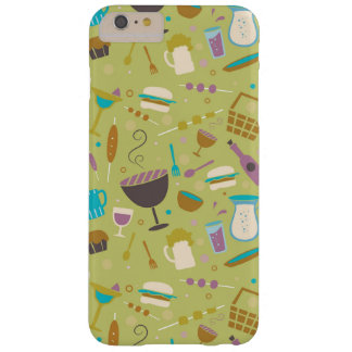 Barbecue Pattern Barely There iPhone 6 Plus Case