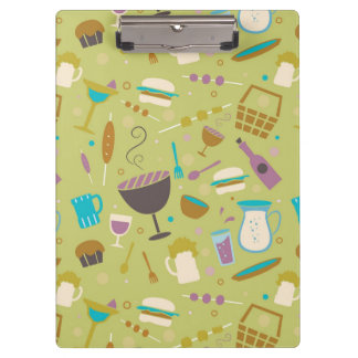 Barbecue Pattern Clipboard