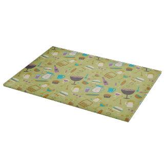 Barbecue Pattern Cutting Board