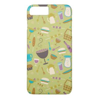 Barbecue Pattern iPhone 8 Plus/7 Plus Case