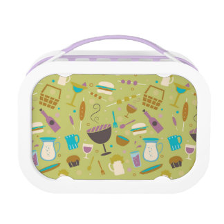 Barbecue Pattern Lunch Box