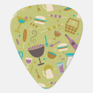 Barbecue Pattern Plectrum