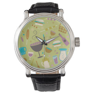 Barbecue Pattern Watch