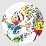 Barbecue pit master grill bbq smoker sticker