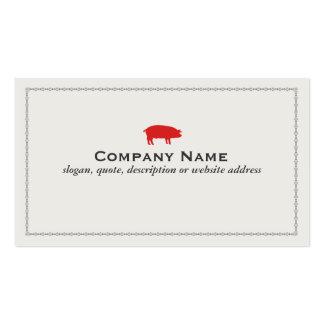 Barbecue Pork Business Card