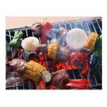 Barbecue Postcard