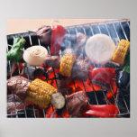 Barbecue Print