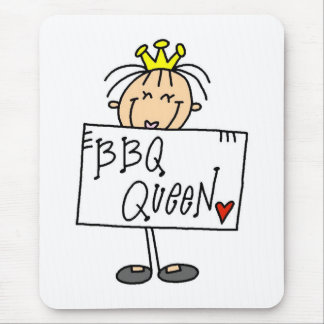 Barbecue Queen Mousepads