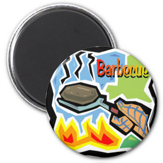 Barbecue Sticker Sheets Refrigerator Magnets