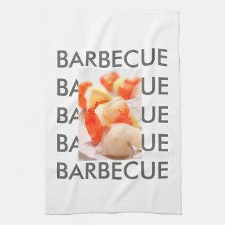 Barbecue Style Tea Towel
